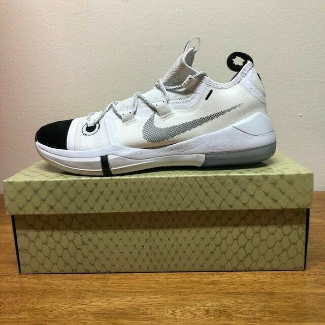 Nike Kobe A.D. Black Toe White Men's Basketball shoes Kobe Bryant AD AR5515-100