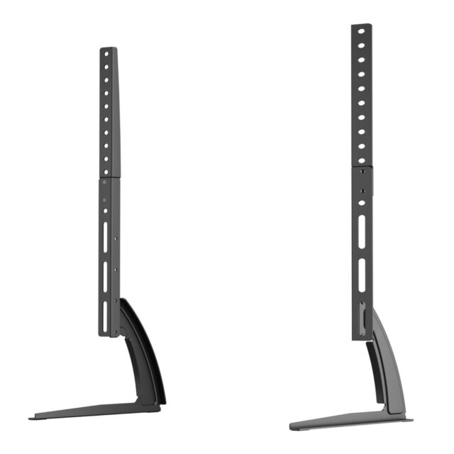 """Universal Table Top Pedestal TV Stand Screen Monitor Riser for 37-65/"""" Samsung LG"""