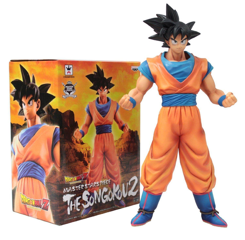 New Banpresto Dragon Ball Z Master Stars Piece Figure 10  The Son Goku 2 F S