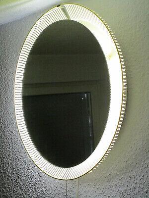 Zier-form Mid Century Vintage 60er Wandspiegel Beleuchtet - Zierform Metall