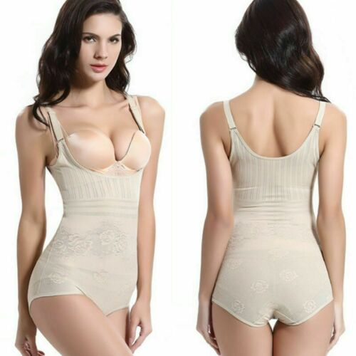 Ladies Full Body Shaper Slimming Shapewear Firm Tummy Control Underwear Bodysuit