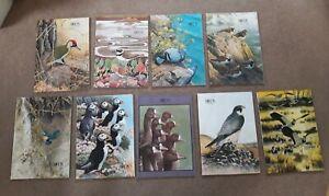 9-x-Vintage-RSPB-Birds-Magazines-1977-1978-1979-1980