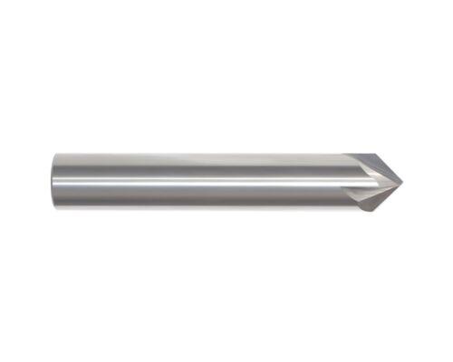 Carbide Chamfer Mill 1//2 4FL 90-Deg MTC-62563