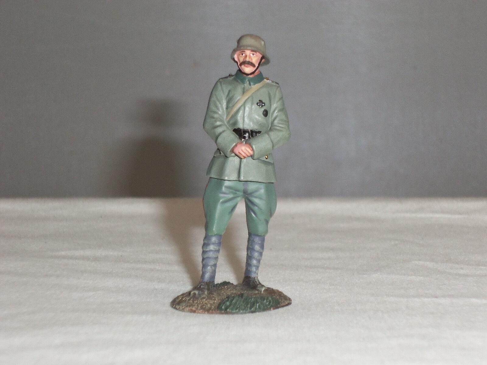 BRITAINS 23087 WW1 GERMAN INFANTRY OFFICER STANDING METAL TOY SOLDIER FIGURE