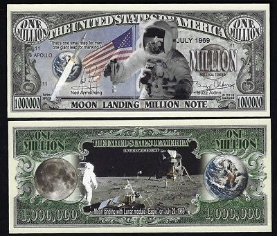 President Nixon makes Historic Phone Call APOLLO 11 Man on Moon Landing $2 Bill