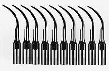 10PC Dental Perio Scaler Insert Tips PD1 for SATELEC NSK DTE Ultrasonic Scaler
