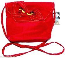 Sac à main ANGIOLO FRASCONI Italie pochette de cérémonie rouge pour femme NEUVE