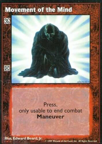 10 x Movement of the Mind VTES CCG
