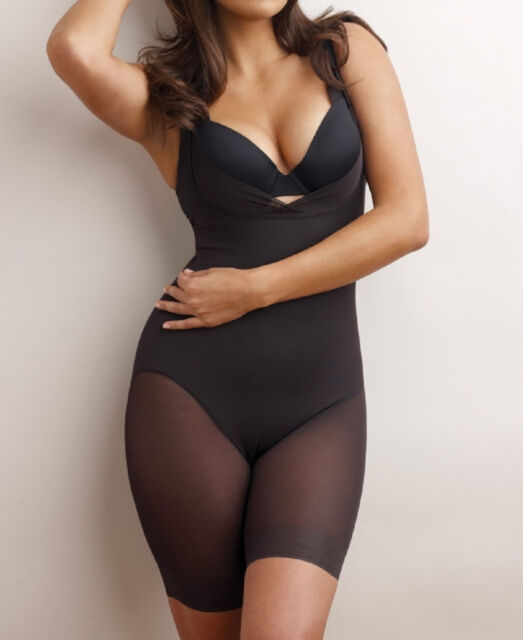 0050e21b0eb Miraclesuit 3768 Womens Black Extra Firm Control Shaping Body Shaper ...