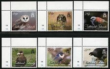 Falkland 2016 Greifvögel Falke Bussard Eulen Owl Birds Falcon ** MNH