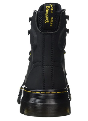 le dr martens nubuck unisexe mesdames quinton noir nubuck martens bottes taille randonnée 62f39e