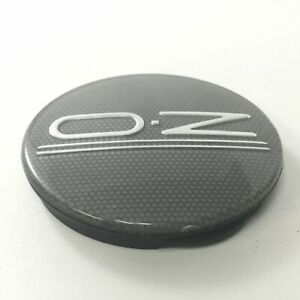 O-Z Racing Aftermarket Wheel Rim Black Carbon Fiber Center Cap Hub Cover M582