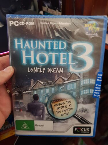 Haunted Hotel 3 NEW AND SEALED PC GAME FREE POST
