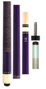 New-McDermott-Lucky-L71-or-L-71-Purple-Pool-Cue-with-Wrap-13-00mm-Shaft