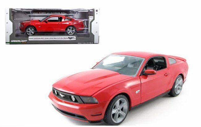 vertlight 1 18 - Ford Mustang 2010 GT rouge Diecast Car Model