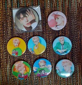 SHINee-Jonghyun-Pins-Badges-6-She-Is-Pins-Portrait-Badge-Onew-Key-Minho-Taemin