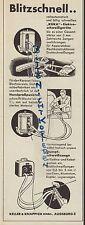 AUGSBURG, Werbung 1938, Keller & Knappich GmbH KUKA Elektro-Schweiß-Geräte Kfz