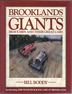 Brooklands-Giants-Brave-Men-amp-Their-Great-Cars-by-Boddy-inc-Aero-engined-cars