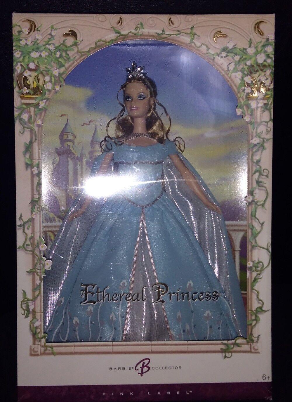 Etérea princesa Barbie Nuevo En Caja Como Nuevo rosado Label