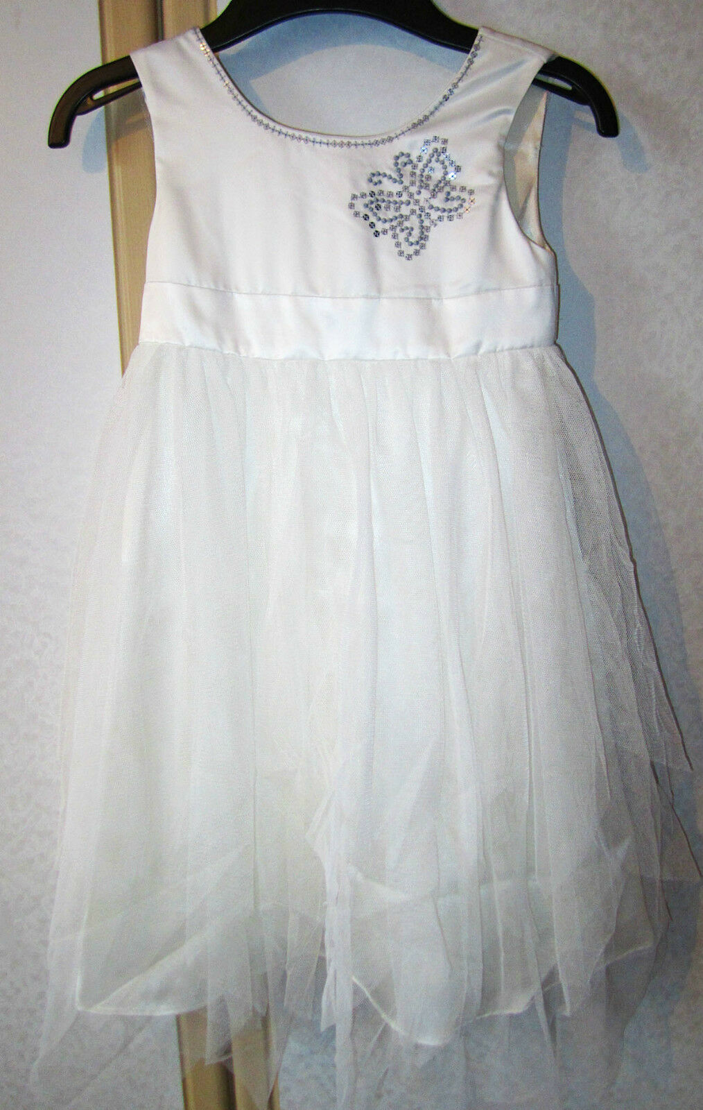 M&S Autograph Exclusive Cream Bridesmaid / Flower Girl Dress Ages 3-4 & 4-5 NWT