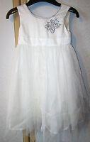 M&s Autograph Exclusive Cream Bridesmaid / Flower Girl Dress Ages 3-4 & 4-5