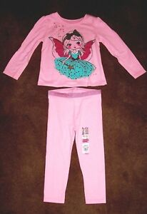 b14d58cbb3117d GARANIMALS TODDLER GIRL'S ANGEL BLOUSE & LEGGINGS 2 PC SET BRAND NEW ...