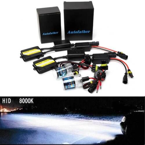 55W H7 AC CANBUS HID Xenon Conversion KIT Headlight Bulbs /& Ballast All Colors