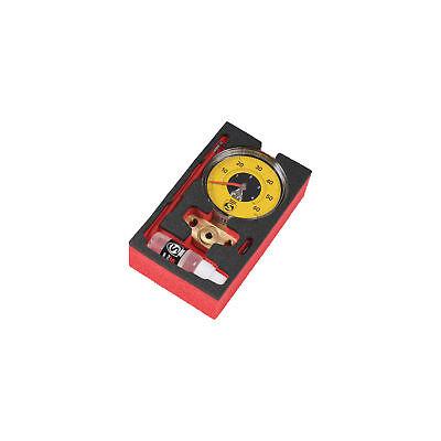 Yellow Silca Super Pista Ultimate 60psi Low Pressure Gauge