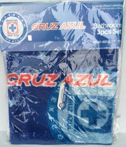 Officially Licensed Cruz Azul Bathroom Rug Set