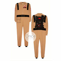 Official Mens Ghostbuster Jumpsuit Onesie All In One Pyjamas From Primark