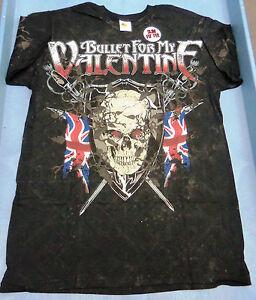 New Bullet For My Valentine Skull Flag All Over Print Metal