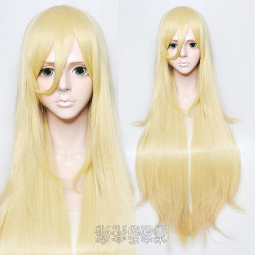 Track Wig Cap Satsuriku no Tenshi Ray Rachel Gardner Anime Cosplay Wig