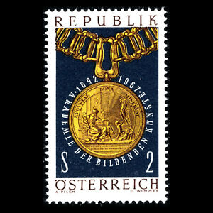 Austria-1967-275th-Anniv-of-the-Academy-of-Visual-Arts-in-Vienna-Sc-800-MNH