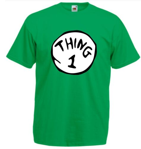 THING ONE T Shirt Childrens Kids Size 1 Cat in the Hat Dr Suess