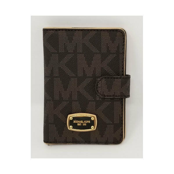Michael Kors Jet Set Item Passport Case 35T1GTTT1B Brown for sale online  3f494725a8def
