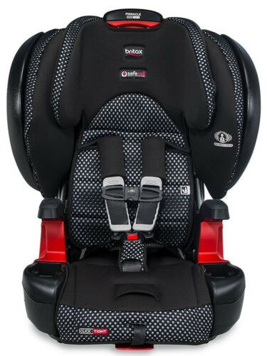 Britax Pinnacle Clicktight Combination Harness-2-Booster Car Seat Cool Flow Grey