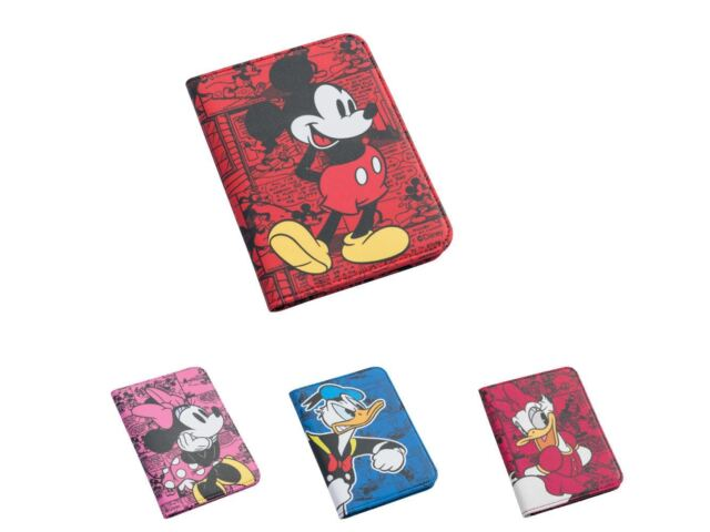 YNC Passport Cover Minnie Mouse Pink Comics Travel ID Holder