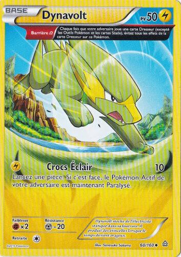 60//160 Carte Pokemon Neuve Française Dynavolt XY5:Primo Choc