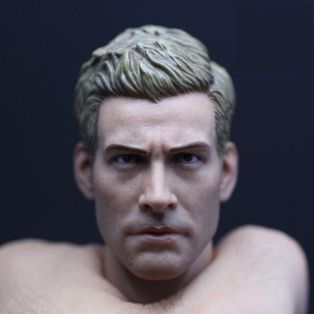 █ Custom Jake Gyllenhaal 1/6 Head Sculpt for Hot Toys TTM19 Muscular Body █