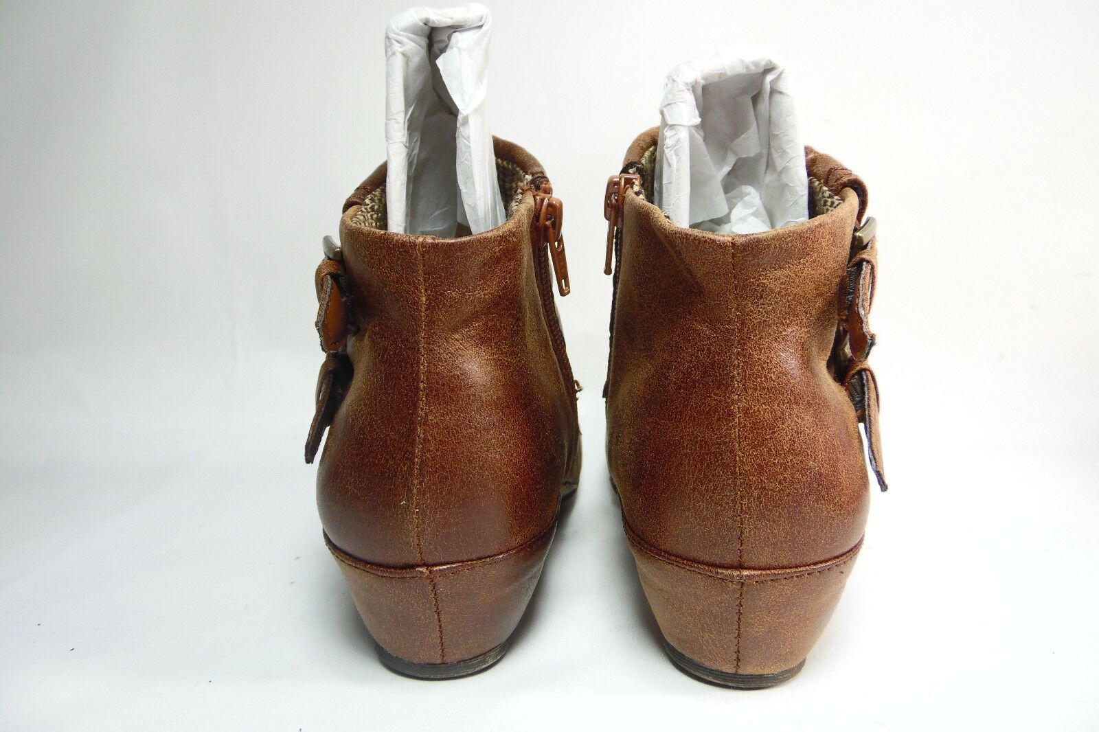 Yuu Sindi Damens  Ankle Booties  Auburn.Größe 5.5M