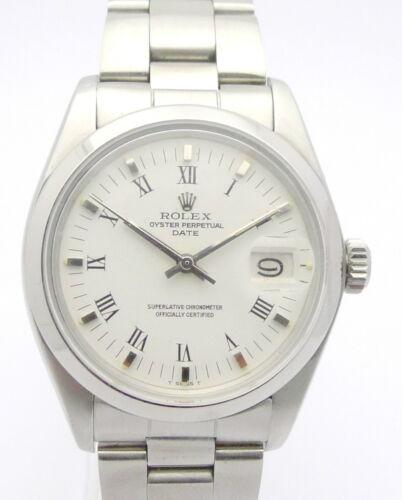 1 von 1 - ROLEX OYSTER DATE - EDELSTAHL HERREN-CHRONOMETER - REF. 1500 von 1978