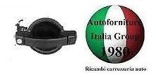 MANIGLIA PORTA POSTERIORE EST NERA C//FORO C//ATTUAT FIAT DOBLO 00/>10 2000/>2010