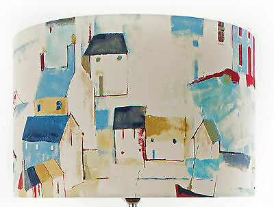 Large Prestigious  St Ives Cobalt Lampshade / Ceiling Light / Pendant  NEW !!!