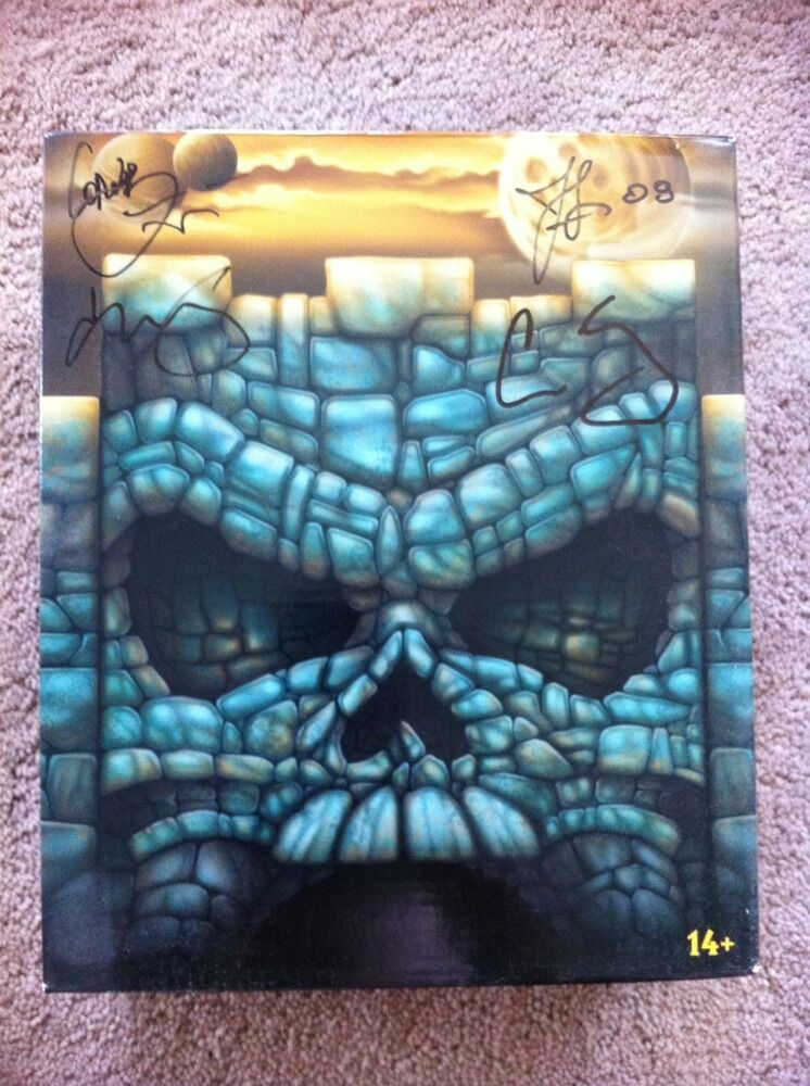 MASTERS OF THE  UNIVERSE MOTUC SDCC EXCLUSIVE KING GrisSKULL SIGNED BY 4HORESUomo