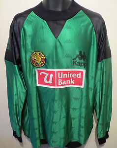 6751672b9 RARE Kappa 1994 Player Issue Kaizer Chiefs Football Shirt Goalkeeper ...