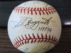 Major-Leagues-Stars-Autograph-Baseball-by-11-players-PSA-DNA-Phil-Rizzuto-Foster