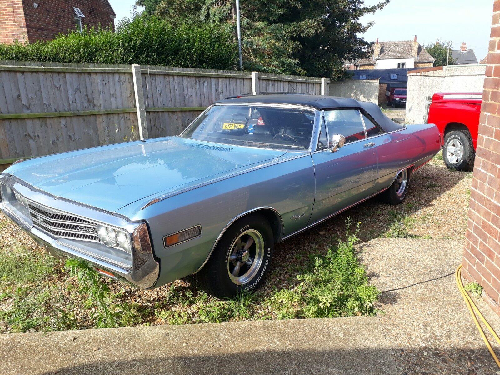 Chrysler Newport convertible 1970