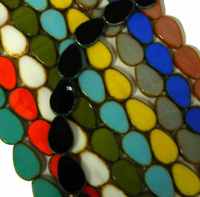 Teardrop 9x11mm Czech Glass Drop Beads 30 Beads U Pick