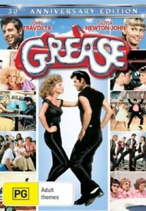 Grease-30th-Anniversay-Edition-2-DVD-Set-2008-with-Sweater-Dust-Cover-R4-PAL