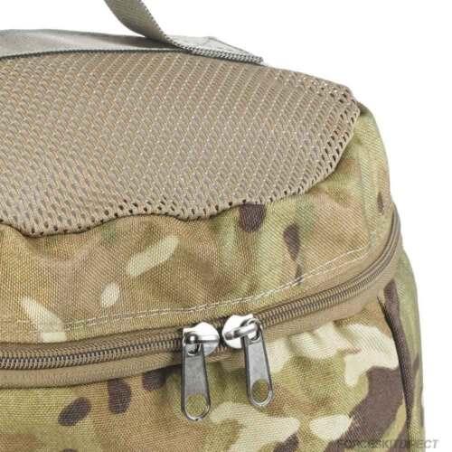 British Army Military Boot Bag MTP Multicam Zipped Travel Shoe Walking Hiking